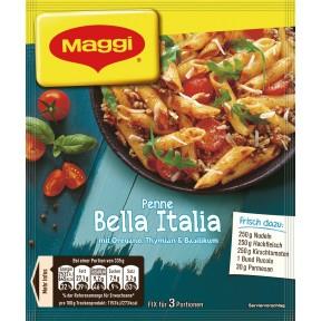 Maggi Idee für Penne Bella Italia 27 g