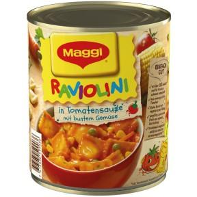 Maggi Raviolini in Tomatensauce mit Gemüse 800 g
