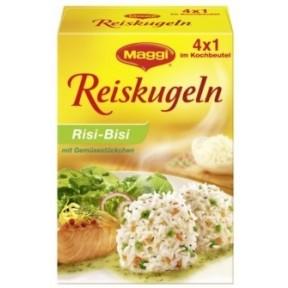 Maggi Reiskugeln Risi-Bisi mit Gemüsestückchen 4x 31,25 g