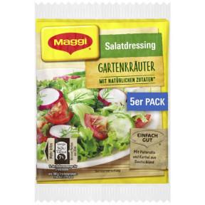 Maggi Salatdressing Gartenkräuter 5x 8 g