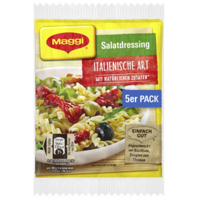 Maggi Salatdressing Italienische Art 5x 8 g