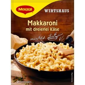 Maggi Wirtshaus Makkaroni mit dreierlei Käse