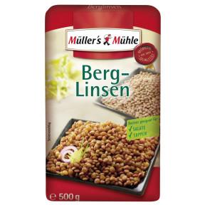 Müller's Mühle Berg-Linsen 500G