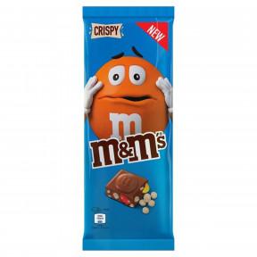 M&M's Crispy Schokolade 150G