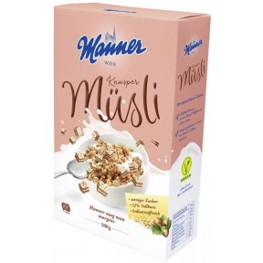 Manner Knusper Müsli