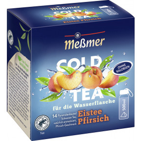 Meßmer Cold Tea Eistee Pfirsich 14ST 38,5G