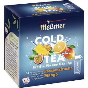 Meßmer Cold Tea Passionsfrucht-Mango 14ST 38,5G