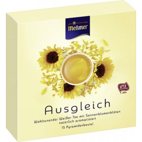 Meßmer Tee Ausgleich im Pyramidenbeutel 15x 1,4 g