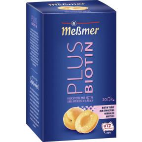 Meßmer Tee Plus Aprikose+Biotin 20x 2,5 g