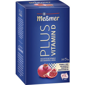 Meßmer Tee Plus Granatapfel+Vitamin D 20x 2,75 g