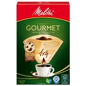 Melitta Kaffeefilter Gourmet 80 Stück