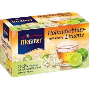 Meßmer Tee Holunderblüte-Limette