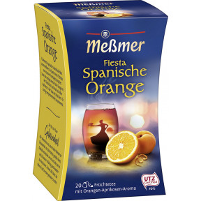 Meßmer Tee Fiesta Spanische Orange 20x 2,5 g