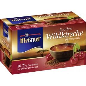 Meßmer Tee Rooibos Wildkirsche 20x 2 g