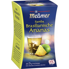 Meßmer tee Samba Brasilianische Ananas 20x 2,5 g