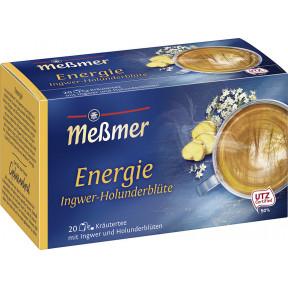 Meßmer Wohlfühltee Energie Ingwer-Holunderblüte 20x 2 g