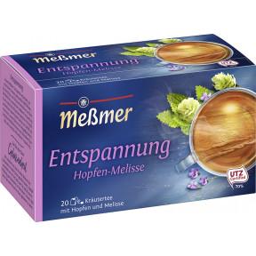 Meßmer Wohlfühltee Entspannung Hopfen-Melisse 20x 2 g