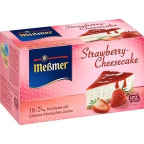 Meßmer Früchtetee Strawberry-Cheesecake