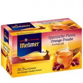 Meßmer Tee Spanischer Fiesta Orange Traube