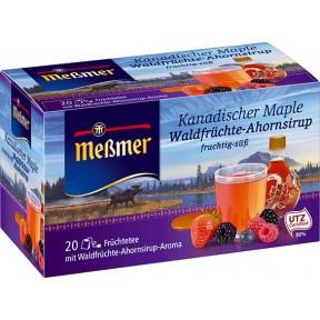 Meßmer Kanadischer Maple Waldfrüchte-Ahornsirup Tee
