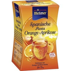 Meßmer Tee Spanische Fiesta Orange-Aprikose