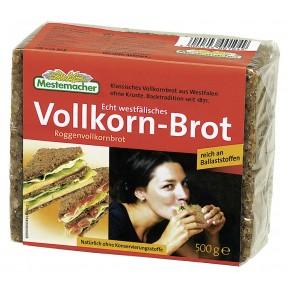 Mestemacher Echt westfälisches Roggenvollkorn-Brot 500 g