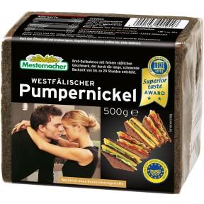 Mestemacher Echt westfälischer Pumpernickel große Packung 500 g