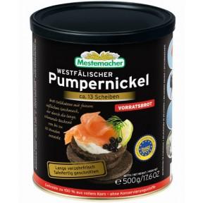 Mestemacher Echt westfälischer Pumpernickel in der Dose 500 g