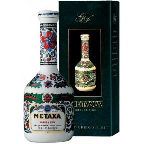 Metaxa Grande Fine in Porzellankaraffe