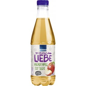 EDEKA Milder Apfel Saft 1 ltr PET