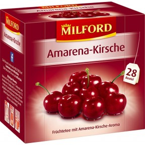 Milford Tee Amarena-Kirsche