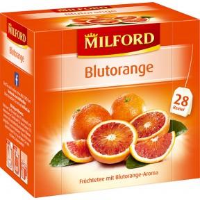 Milford Tee Blutorange