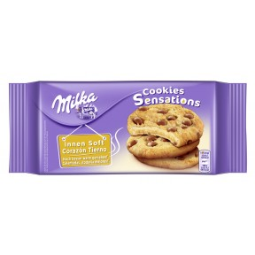 Milka Cookies Sensations innen soft