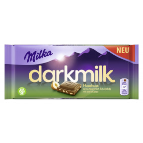 Milka Dark Milk Haselnuss 85G