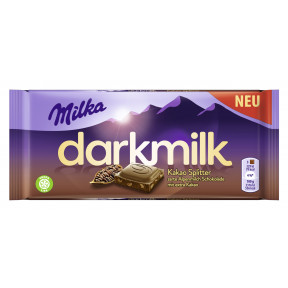 Milka Dark Milk Kakao Splitter 85G