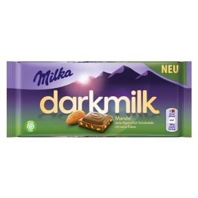 Milka Darkmilk Mandel 85 g