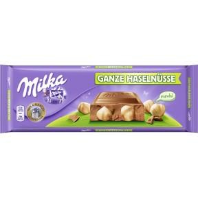 Milka Ganze Haselnüsse Großtafel