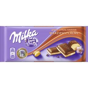 Milka Marzipan-Crème Schokolade