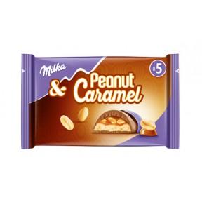 Milka & Peanut Caramel Riegel 5x 37 g