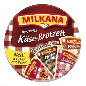 Milkana Herzhafte Käse-Brotzeit 8x 25 g