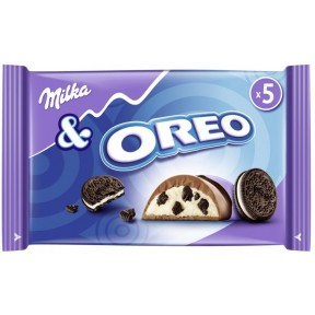 Milka & Oreo Schokoriegel 5x 37 g