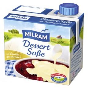Milram Dessert Soße Vanille-Geschmack 500 ml