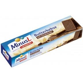 Minus L Butterkekse mit Schokolade