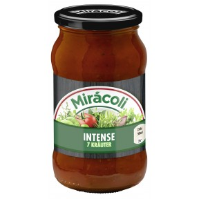 Miracoli Pasta Sauce Intense 7 Kräuter