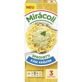 Miracoli Spaghetti Käse Kräuter 3 Portionen