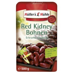 Müller's Mühle Red Kidney Bohnen 500 g