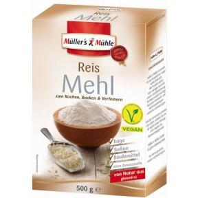 Müller's Mühle Reis Mehl