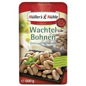 Müller's Mühle Wachtel Bohnen 500 g