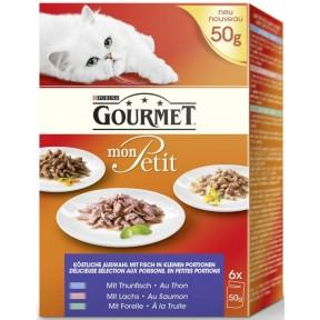 Gourmet Mon Petit Multipack Fisch Nassfutter