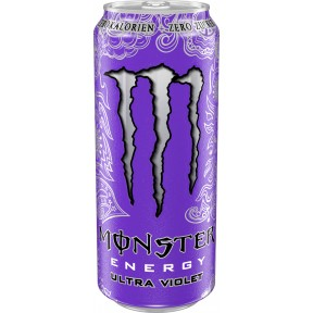 Monster Ultra Violet Energydrink 0,5 ltr